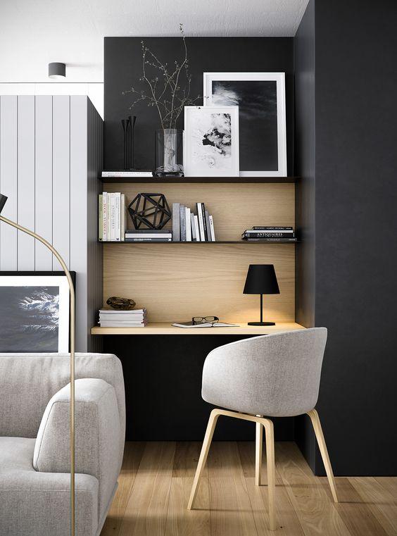 ComeArredare una zona studio all interno dell arredo soggiorno