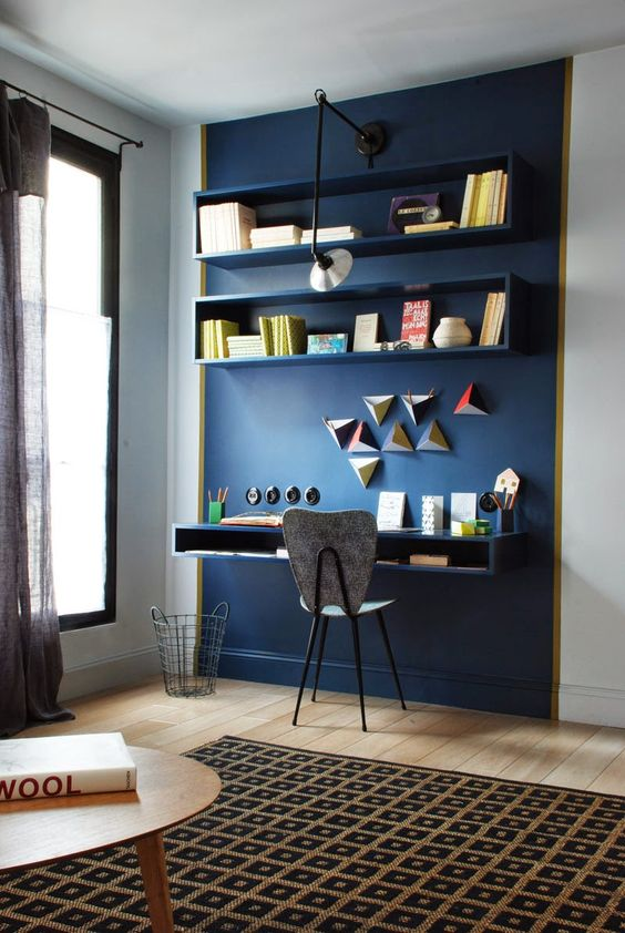 Come Arredare una zona studio parete studio attrezzata