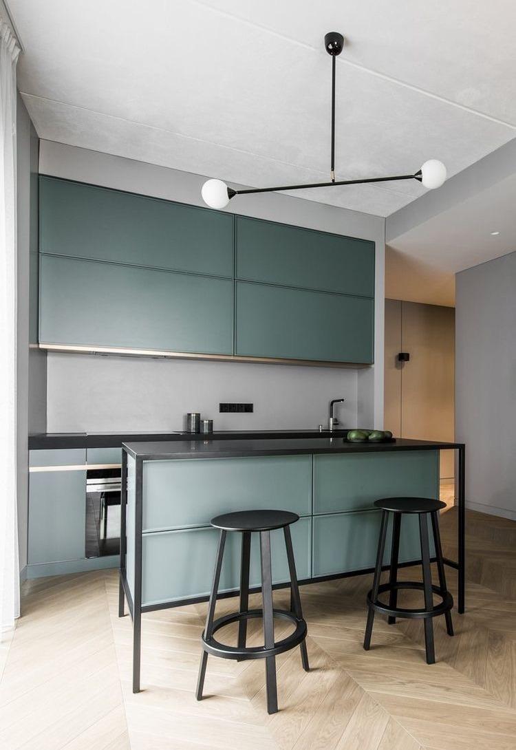 cucina ad isola piccoli spazi