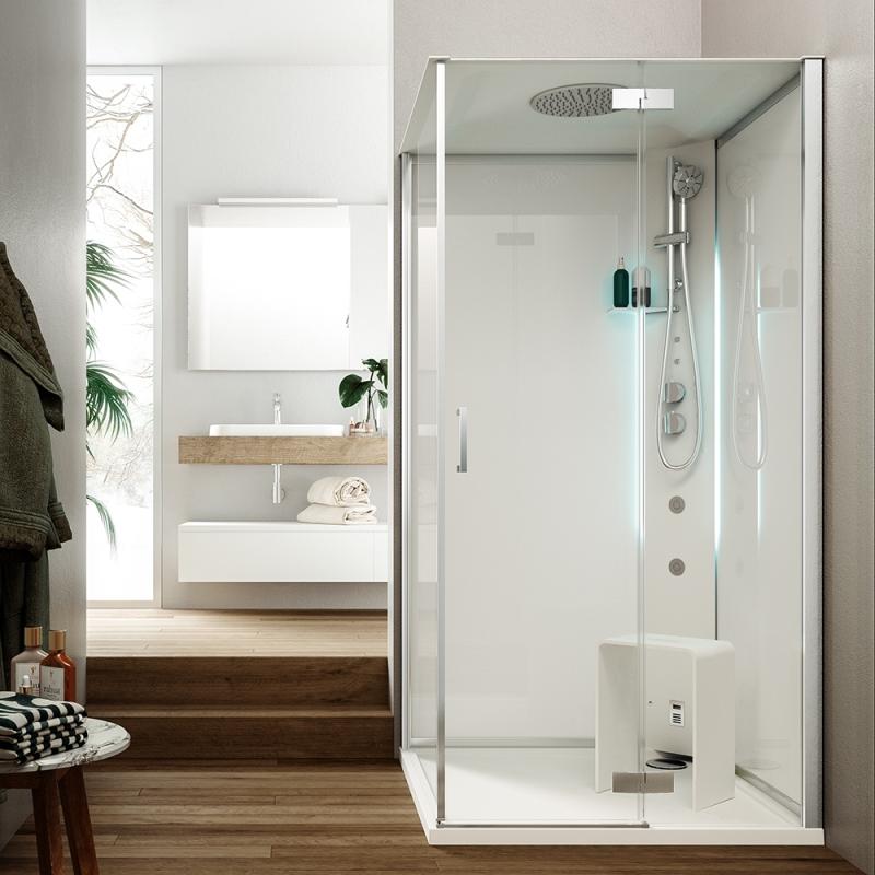 Soluzione cabina doccia multifunzione Hammam metis