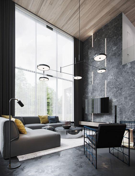 Come arredare il soggiorno moderno : Visioninterne
